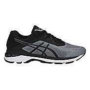 Mens ASICS GT-2000 6 Running Shoe - Black/Grey 7.5