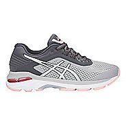 Womens ASICS GT-2000 6 Running Shoe - Grey/Silver 10.5