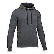 Mens Under Armour Rival Fitted Pullover Half-Zips & Hoodies Technical Tops