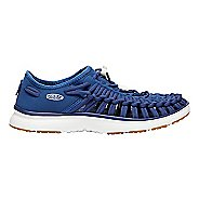 Womens Keen Uneek O2 Casual Shoe - Blue/Gold 9