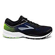 Mens Brooks Launch 5 Running Shoe - Ebony/Grey/Red 8
