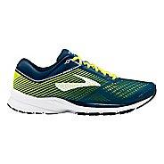 Mens Brooks Launch 5 Running Shoe - Blue/White 9.5