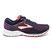 Womens Brooks Launch 5 Running Shoe - Navy/Coral/Purple 9