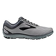 Mens Brooks PureFlow 7 Running Shoe - Grey/Black 7