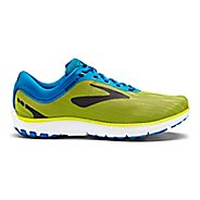Mens Brooks PureFlow 7 Running Shoe - Nightlife/Blue/Black 8.5