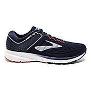 Mens Brooks Ravenna 9 Running Shoe - Navy/White/Orange 14