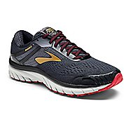 Mens Brooks Adrenaline GTS 18 Running Shoe - White/Grey/Tan 12