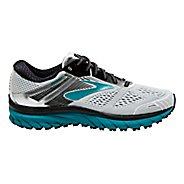 Womens Brooks Adrenaline GTS 18 Running Shoe - White/Black/Teal 11.5