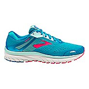 Womens Brooks Adrenaline GTS 18 Running Shoe - Blue/Mint/Pink 5.5