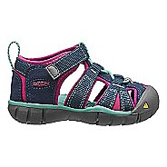 Kids Keen Seacamp II CNX Sandals Shoe - Poseidon/Very Berry 6C