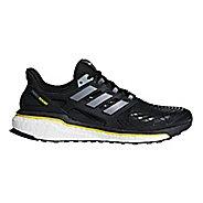 Mens adidas Energy Boost 5th Anniversary Running Shoe - Black/Yellow 10.5