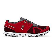 Mens On Cloud Running Shoe - Red/Ox 7.5