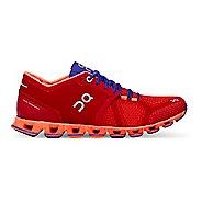 Womens On Cloud X Running Shoe - Red/Orange 7.5