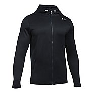 Mens Under Armour Reactor Full-Zip Cold Weather Jackets - Black L