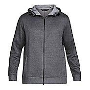 Mens Under Armour Sportstyle Sweater Fleece Full-Zip Half-Zips & Hoodies Technical Tops
