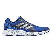 Mens adidas AeroBounce ST Running Shoe - Blue/Silver 12.5