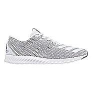 Womens adidas AeroBounce PR Running Shoe - White/Silver 9.5