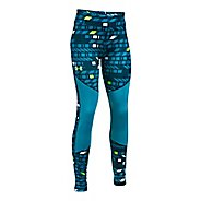 Under Armour Novelty ColdGear Legging  Tights - True Ink/Blue Shift YL