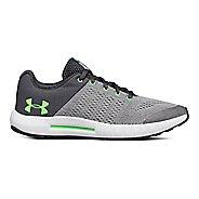 Kids Under Armour Pursuit Running Shoe - Grey/Green 7Y