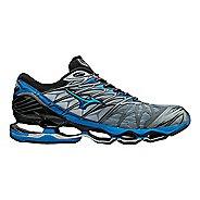 Mens Mizuno Wave Prophecy 7 Running Shoe - Grey/Blue 9