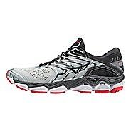 Mens Mizuno Wave Horizon 2 Running Shoe - Silver/Black 12.5