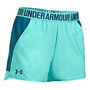 Womens Under Armour Play Up 2.0 Mesh Inset Unlined Shorts - Blue Infinity/Blue XS