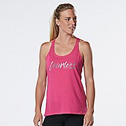 Womens R-Gear Fearless Graphic Sleeveless & Tank Technical Tops - Heather Dynamo Pink L