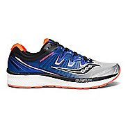 Mens Saucony Triumph ISO 4 Running Shoe - Blue/Red 10.5