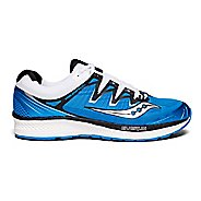Mens Saucony Triumph ISO 4 Running Shoe - Blue/Black/White 12