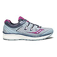 Womens Saucony Triumph ISO 4 Running Shoe - Fog/Purple 11.5