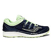 Womens Saucony Triumph ISO 4 Running Shoe - Navy/Mint 6.5