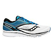 Mens Saucony Kinvara 9 Running Shoe - Blue/White 9