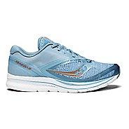 Womens Saucony Kinvara 9 Running Shoe - Denim/Copper 6