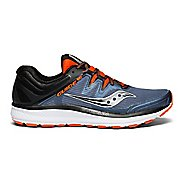 Mens Saucony Guide ISO Running Shoe - Black/Red 12.5