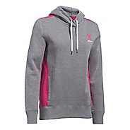 Womens Under Armour PIP Half-Zips & Hoodies Technical Tops