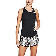 Womens Under Armour Threadborne Swyft Racer Sleeveless & Tank Technical Tops - Black M