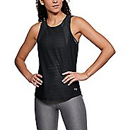 Womens Under Armour Balance Mesh Sleeveless & Tank Tops Technical Tops - Black XL