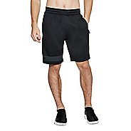 Mens Under Armour MK-1 Terry Unlined Shorts - Black/Anthracite S