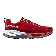 Mens Hoka One One Mach Running Shoe - Red/Black 12