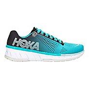 Womens Hoka One One Cavu Running Shoe - Turquoise/Black 6.5
