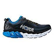 Mens Hoka One One Arahi 2 Running Shoe - Black/Blue 13