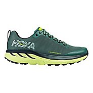 Mens Hoka One One Challenger ATR 4 Trail Running Shoe - Silver Pine/Green 12.5