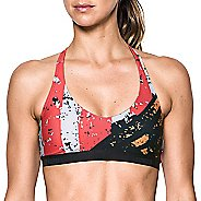 Womens Under Armour Strappy Low Sub Sports Bras - Anthracite S