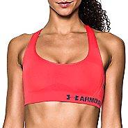 Womens Under Armour Threadborne Crossback Solid Sports Bras - Marathon Red XL