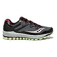 Womens Saucony Peregrine 8 Trail Running Shoe - Grey/Mint 10