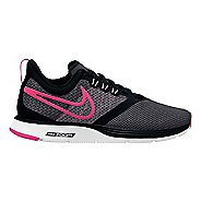 Kids Nike Strike Running Shoe - Black/Pink 5Y