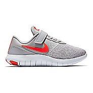 Kids Nike Flex Contact Running Shoe - Grey/Crimson 2Y