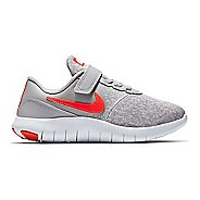 Kids Nike Flex Contact Running Shoe - Grey/Crimson 3Y