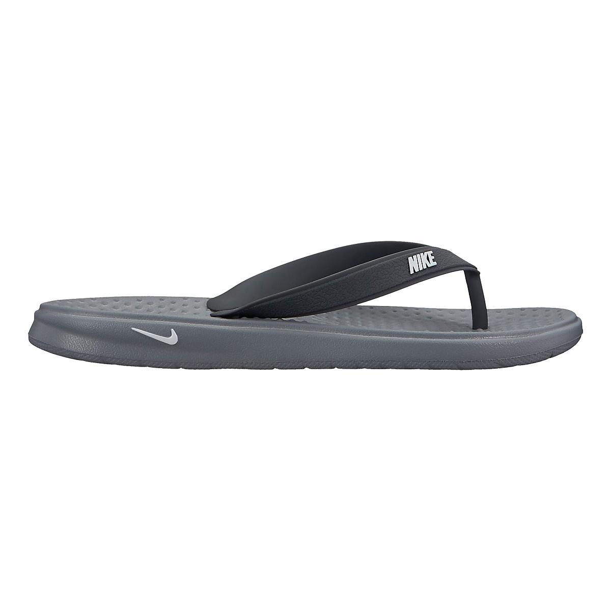 san francisco a9cfe fcec6 Kids Nike Solay Thong Sandals Shoe