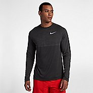 Mens Nike Dry Medalist Top Long Sleeve Technical Tops - Anthracite/Black XL